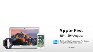 discount price cut cashback on apple devices