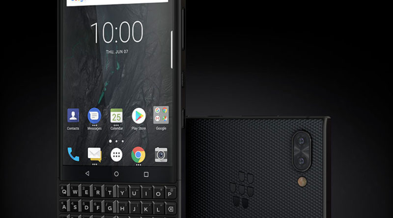 Blackberry KEY2 Launched with Dual Camera , Price and Specifications