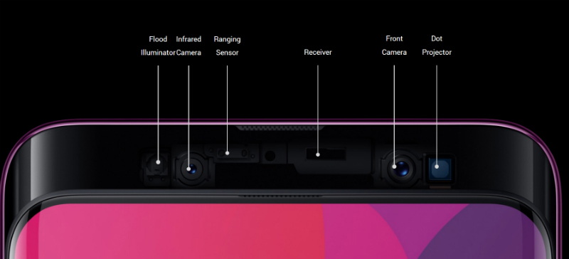 oppo find x display specs specifications and features