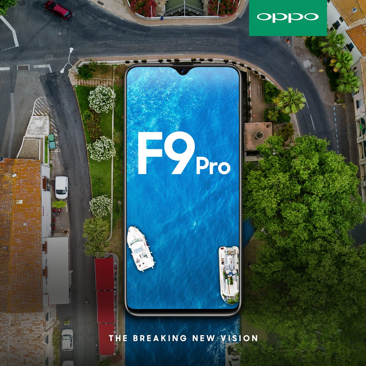 Oppo F9 Pro India launch date , price , specs and features with water drop screen