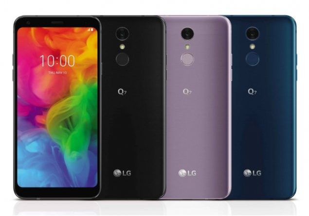 lg launched lg q7 in india specs and features specifications of q7