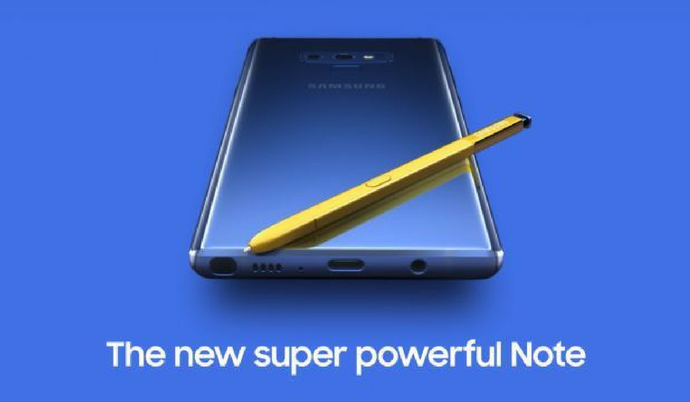 Samsung has announced galaxy note 9 with great specifications and features exynos 9810 and snapdragon 845 processor 6.9 inch display price in india