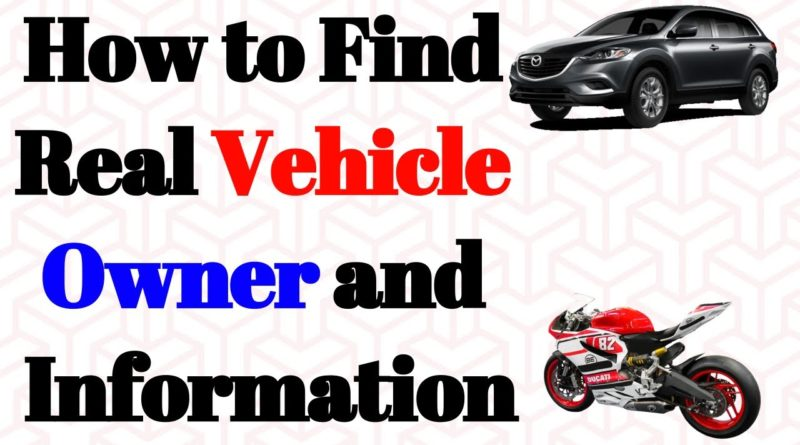 how to find vehicle owner information via mobile app online identfy owner name mobile number and car vehicle bike details