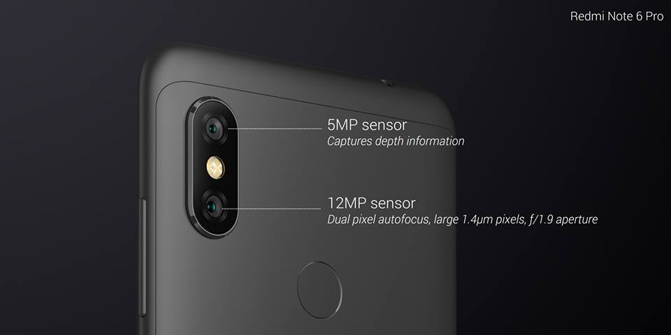 xiaomi redmi note 6 pro four camera notch display price specs and features release date in india