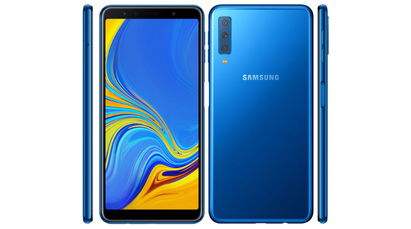 first triple camera smartphone launched samsung galaxy a7 208 india release date price specs and features review
