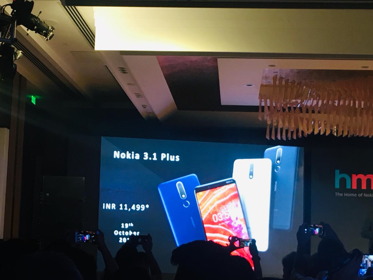 nokia 3.1 plus price in india and offers