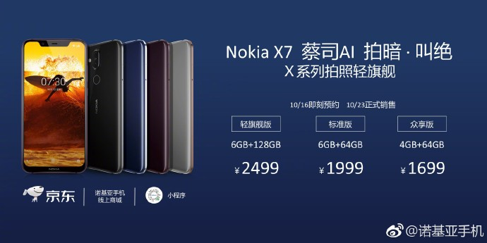 Nokia X7 or 7.1 plus Price and India Launch Date