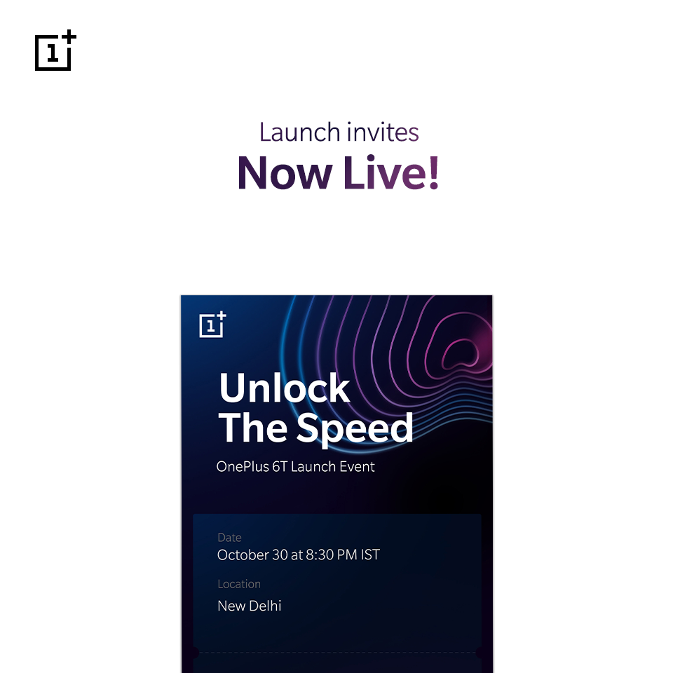 oneplus 6t india launch date