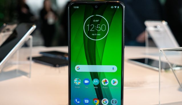 moto g7 power display and snapdragon 632 processor