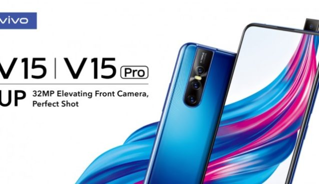 vivo v15 pro camera display and in display fingerprint sensor
