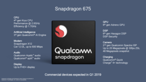 snapdragon 675 gpu cpu performaance vs snapdragon 710 cpu kyro 360 vs 460 gaming
