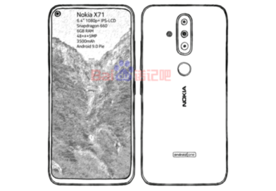 nokia x71 aks nokia 6.2 latest leaked specifications and features confimrs 48mp camera and punch hole display