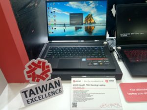 msi s65 gaming laptop taiwan excellence taiwan expo