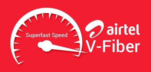 airtel v-fiber high speed internet broadband plans and details connection