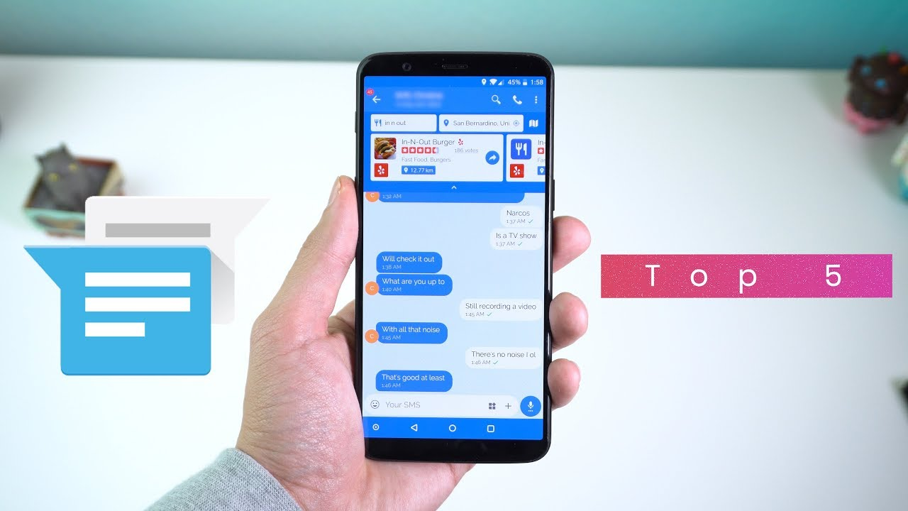 List of Best and Top 5 Free SMS Apps for Android/iOS in 2019