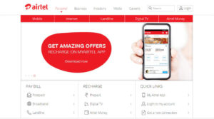 how to check airtel data usage online using airtel official website