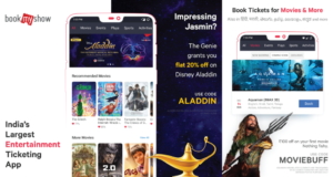 bookmyshow offers on booking movie tickets online