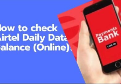 How To Check Airtel Net Balance using USSD Code, app and official website method