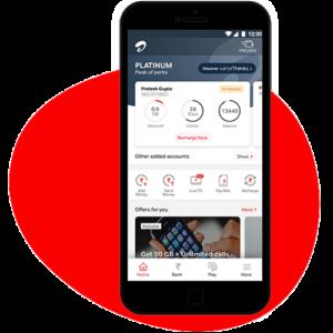 check airtel net balance and data usage online using airtel thanks app