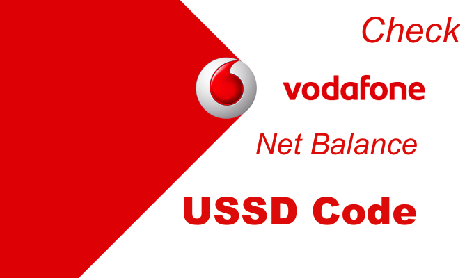 How To Check Vodafone Net Balance using USSD Code/App Method