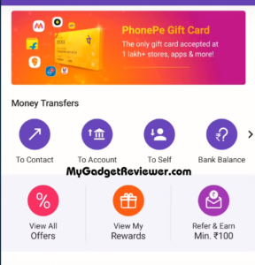 how to recharge fastag using phonepe