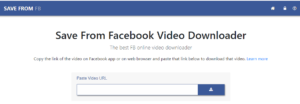 apps for downloading facebook videos andoid ios savefromnet for fb
