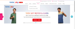 how to add or remove channels and packages in tata sky via official site