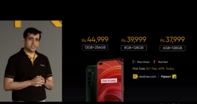 realme x50 pro 5g launched in india starting from rs 37,999