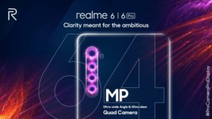 realme 6 pro series camera specifications and features