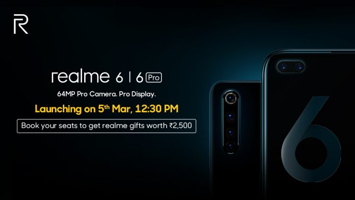 realme 6 and 6 pro india launch date and price in India