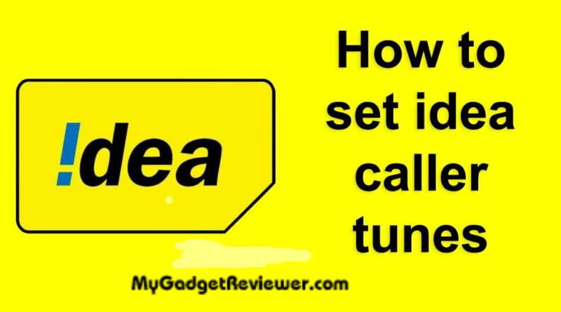 how to set hello tune in idea number ia app ussd code and app