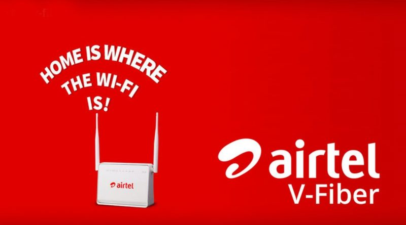 airtel broadband plans with unlimited data and high speed wifi router
