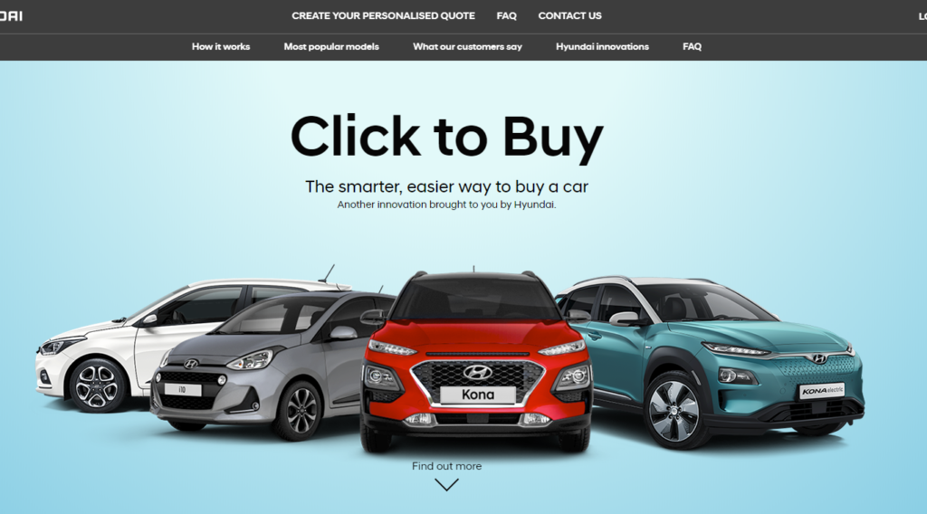 Hyundai Click To Buy Launched How To Book Cars Online