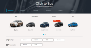 how to book hyundai cars through hyundai click to buy service
