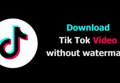 how to download tiktok videos wihout watermark in android and iphone