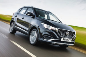mg zs ev suv driving ride quality and range battery charging time