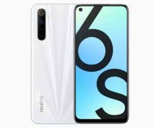 realme 6s camera specifications and features
