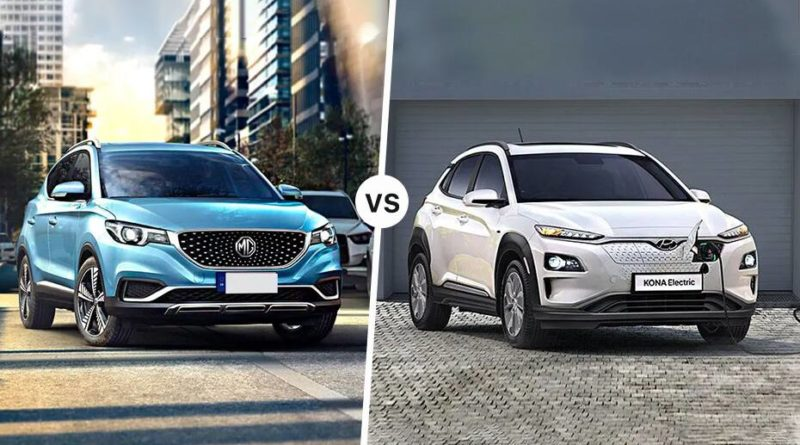 honda kona electric vs mg zs ev comparison review which is better
