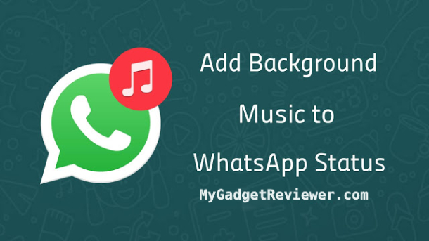 How to Add Background Music to WhatsApp Status in Android and iOS.