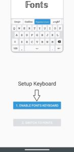 change keyboard in android and ios
