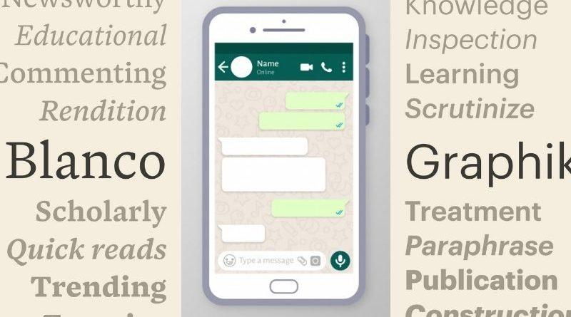 how to change whatsapp font in whatsapp chats