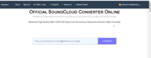 download music tracks in sounclud
