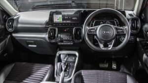 kia sonet interior images and specs