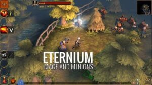 how to download and play eternium apk file in android and iphone