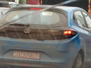 tata altroz turbo images spotted while testing
