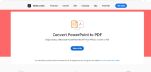 convert powerpoint presentation ppt to pdf documents