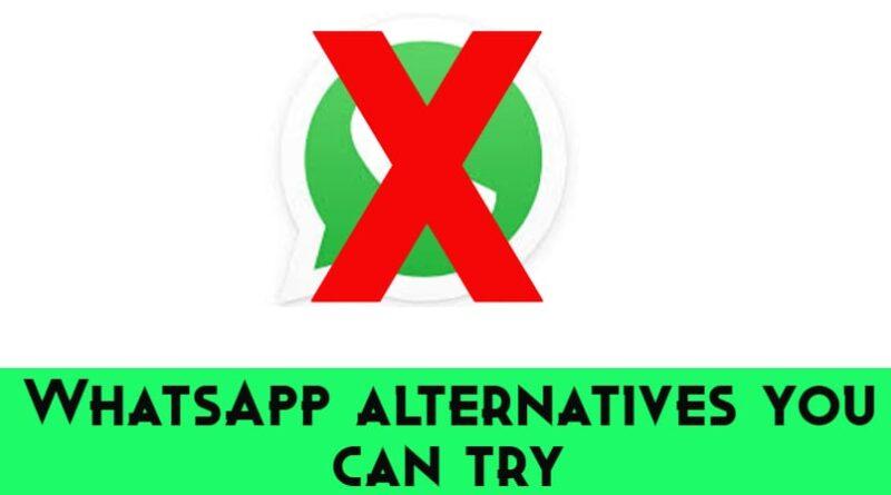 which is the best whatsapp alternative