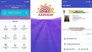 hvordan man downloader e-Aadhaar-kort ved hjælp af mAadhaar-appen