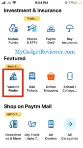 how to book covid vaccine slot through paytm